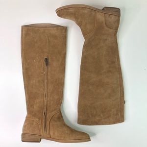 NEW UGG Knee High Suede Brown Tan Boots
